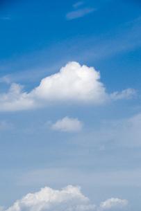 夏の雲の写真素材 [FYI00328179]