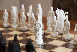 チェスのキングの駒の写真素材 [FYI00328320]