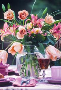 パーティーの花瓶の写真素材 [FYI00328433]