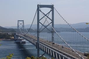 鳴門大橋の写真素材 [FYI00328792]