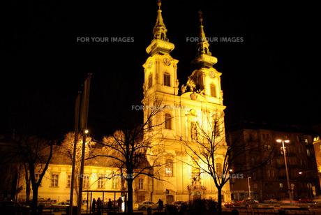 ブダペストの教会の写真素材 [FYI00328801]