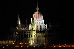 ブダペスト・国会議事堂の写真素材 [FYI00328817]