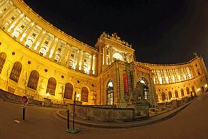 ウィーンの王宮の写真素材 [FYI00328835]