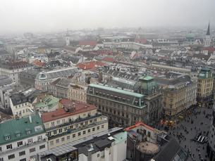 ウィーンの街並みの写真素材 [FYI00328839]