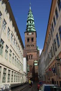 コペンハーゲンの一コマの写真素材 [FYI00328843]