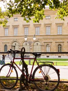 ミュンヘンの自転車の写真素材 [FYI00328857]