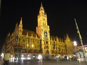 ミュンヘン新市庁舎の写真素材 [FYI00328869]