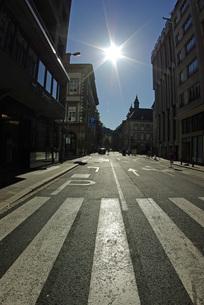 ルクセンブルグの新市街の写真素材 [FYI00328874]