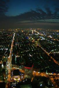 台北の夜景の写真素材 [FYI00328888]