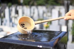 墓参りの写真素材 [FYI00329068]