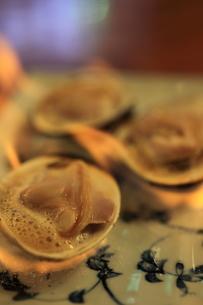 焼き蛤の写真素材 [FYI00329132]