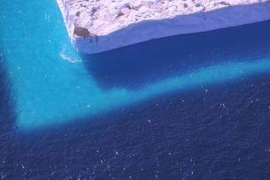 テーブル氷山の写真素材 [FYI00329261]