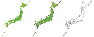 日本列島の写真素材 [FYI00329364]