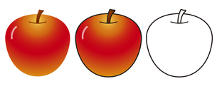 リンゴの写真素材 [FYI00329374]