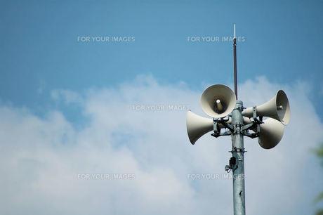 拡声器の写真素材 [FYI00330372]