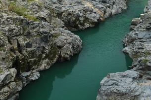 飛騨川の淵の写真素材 [FYI00331279]