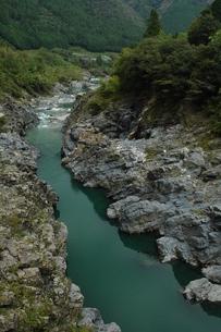 飛騨川、峡谷の写真素材 [FYI00331280]