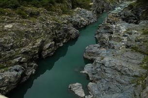 岩の峡谷の写真素材 [FYI00331283]