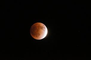 皆既月蝕、2012年12月の写真素材 [FYI00331457]