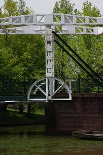 跳ね橋、木曽三川公園、アクアワールド水郷パークセンターの写真素材 [FYI00331801]