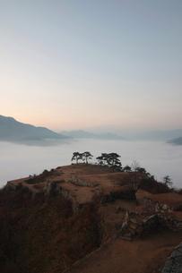 竹田城の写真素材 [FYI00332241]
