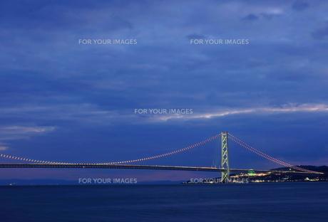 明石海峡大橋の写真素材 [FYI00332261]