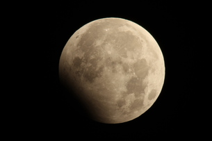 月食の写真素材 [FYI00332278]