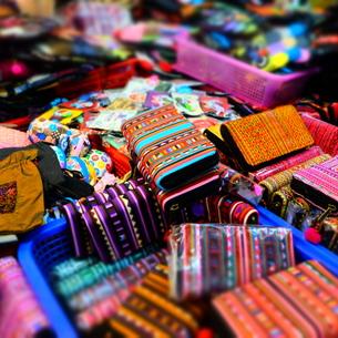 タイ民族雑貨の写真素材 [FYI00332329]