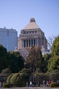 国会議事堂の写真素材 [FYI00332678]