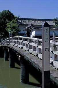 皇居の平川橋と平川門の写真素材 [FYI00333544]