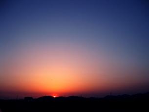 夕焼けの素材 [FYI00333660]