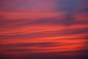 夕焼け空の写真素材 [FYI00333687]