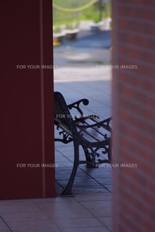 ベンチの写真素材 [FYI00333747]