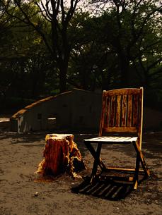 公園にイスの写真素材 [FYI00333873]