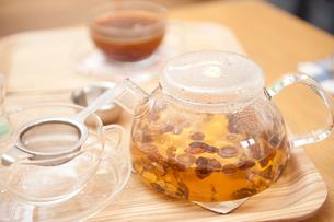 韓国の漢方茶の写真素材 [FYI00333909]
