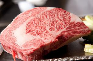高級霜降り牛肉の写真素材 [FYI00333922]