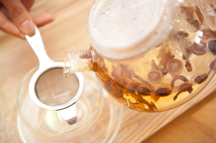 韓国の漢方茶の写真素材 [FYI00333934]