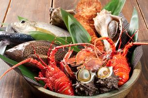 新鮮魚介類の写真素材 [FYI00333946]