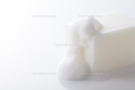 石鹸と泡の写真素材 [FYI00334248]