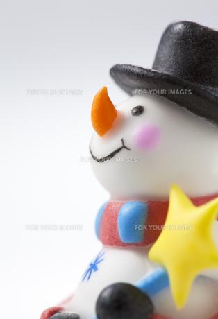 雪だるまの写真素材 [FYI00334296]