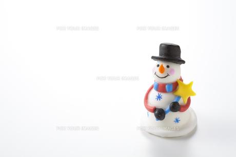 雪だるまの写真素材 [FYI00334305]