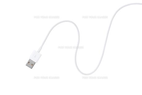 USBケーブルの写真素材 [FYI00334533]