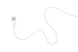 USBケーブルの写真素材 [FYI00334536]