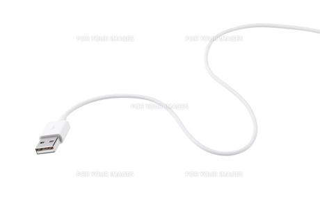 USBケーブルの写真素材 [FYI00334547]