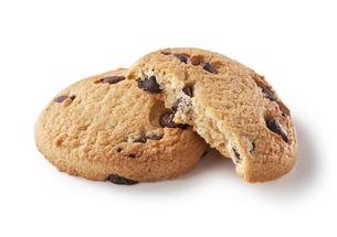 チョコチップクッキーの写真素材 [FYI00334629]
