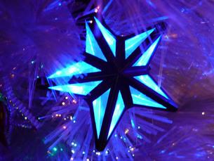 クリスマスの星の写真素材 [FYI00334727]