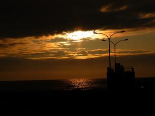 夕景の写真素材 [FYI00334740]
