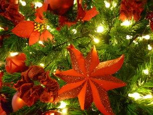 クリスマスオーナメントの写真素材 [FYI00334751]