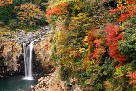 鮎帰りの滝の写真素材 [FYI00334932]