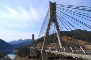 宇目の唄げんか橋の写真素材 [FYI00335058]